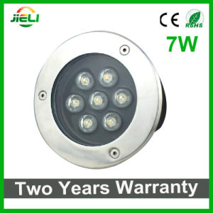 Waterproof 7W Single Color LED Underground Light pictures & photos