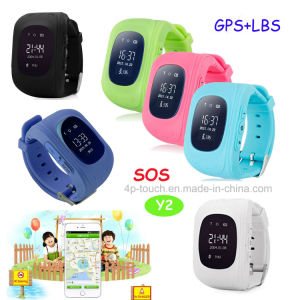 Wholesale Real Time Location Kids GPS Tracker Watch (Y2) pictures & photos