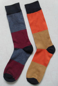 Plain Embroidery Cotton Mens Socks pictures & photos