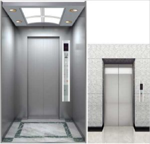 High Speed Stretcher Elevator with Hairline Stainless Steel pictures & photos