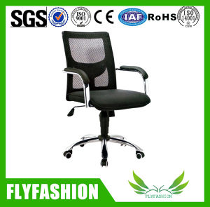 Office Black Mesh Fabric Chrome Leg Chair (OC-96) pictures & photos