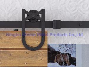 Sliding Barn Door Hardware (DM-SDU 7206) pictures & photos