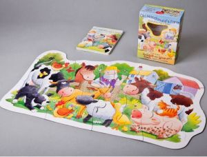 Promotional Story Paperboard Jigsaw for Kids pictures & photos