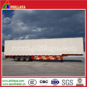 Heavy Duty Body Box Semi Trailer for Cargo Transporter pictures & photos