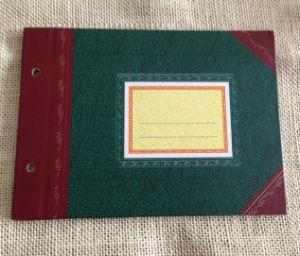 PU Leather Hardcover Revenue Ledger pictures & photos