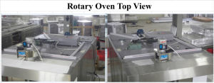 Gas Rotary Baking Oven for Food Equipment Including 2 Racks (ALB-32Q) pictures & photos