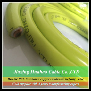 Double Insulation NBR Insulation PVC Sheath 16mm2 25mm2 35mm2 50mm2 70mm2 95mm2 120mm2 Orange Welding Cable pictures & photos