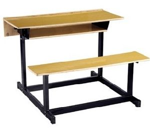 Double Benches, School Furniture, Classroom Furniture, Study Table for Students pictures & photos
