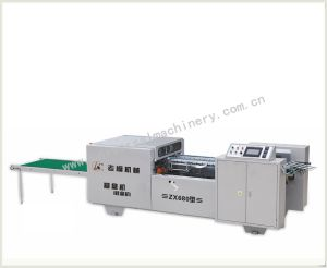 Full Automatic Shoe Box Pasting Machine (ZX-680) pictures & photos