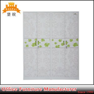 Factory Direct Colourful Steel 4 Door Clothes Cupboard pictures & photos