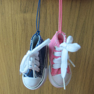 Custom Promotion Gift Canvas Ornament with Shoe pictures & photos