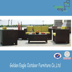 Hotel Terrace Leisure Sofa Set Outdoor Rattan Furniture