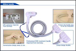 Germany Bars 808nm Diode Laser Hair Removal / 808nm Diode Painless Depilation Beauty Equipment pictures & photos