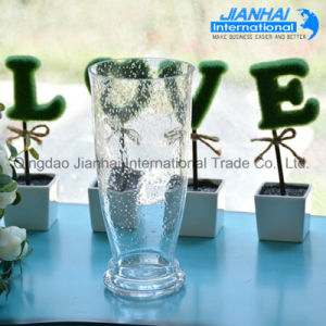 Home Decoration High Quality Clear Glass Vase Flower Vases pictures & photos