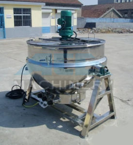 Electric Heating Vertical Jacket Kettle Agitating pictures & photos