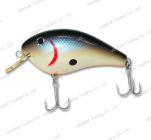 Top Grade Fishing Tackle Balsa Wood Crank Bait Fishing Lure (HYT002) pictures & photos