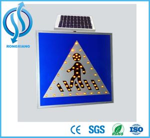 Solar Traffic Signs of LED Bulb pictures & photos