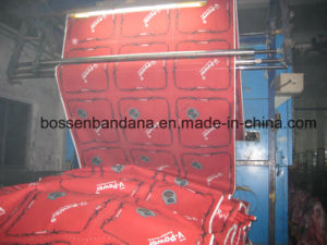 Factory OEM Produce Customized Logo Print Red Cotton Bandanna Headwear pictures & photos