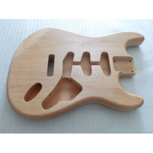 Unfinished Strat Guitar Body 2 Piece Alder Wood SSS Routed pictures & photos