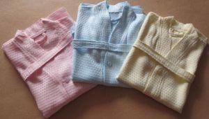 Waffle Bamboo Fibre Child Bathrobe Pajamas pictures & photos