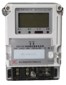 Single Phase Dlms Smart Energy Meter for AMR/Ami System pictures & photos