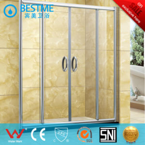 Factory Price Two Fixed Two Sliding Shower Door for Bathroom (B8816) pictures & photos