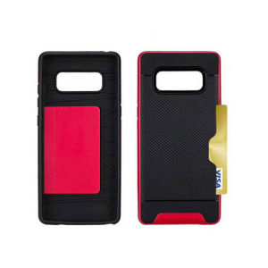 2017 New 2 in 1 Card Slot Phone Case for Samsung Note 8 pictures & photos