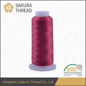 100% Rayon 4000 Yards Embroidery Thread with Oeko-Tex100 1 Class pictures & photos