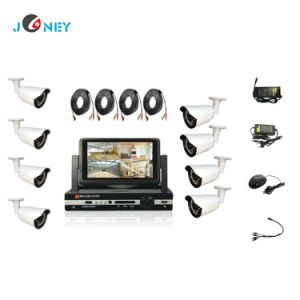 Home Security System 2.0 MP Ahd Camera 4CH 8CH DVR CCTV Security System pictures & photos