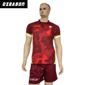 Latest Design Women/Men Team Rugby Uniforms Wholesale (R008) pictures & photos