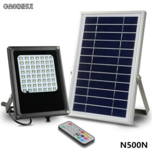 56 LED IP65 Waterproof Solar Flood Light Remote Control RGBW Landscape Yard Garden Decorative Floodlight pictures & photos