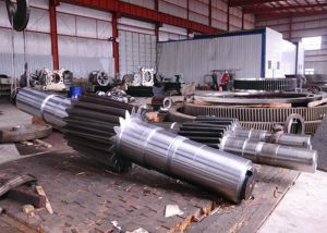 16mn Steel Spur Gear Shaft pictures & photos