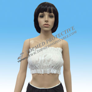 White Disposable SMS Bra and Bikini with Tie Back pictures & photos