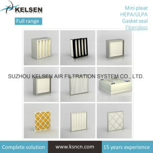 Cleanroom Glassfiber HEPA/ULPA Filter pictures & photos