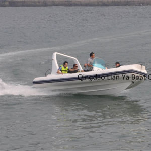 Liya 20ft Hypalon or PVC Inflatable Boat with Motor Sale pictures & photos