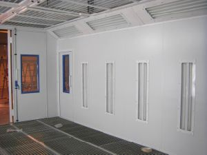 European Design Painting Booth + Baking Booth Line pictures & photos