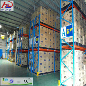 Storage System Heavy Duty Very Narrow Aisle Pallet Racking pictures & photos