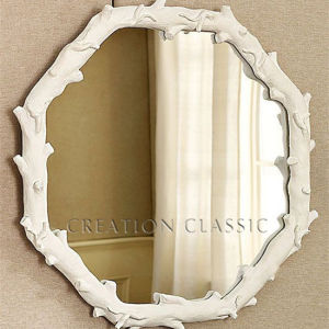 Round Competitive High Quality Light Silver Decorative Bathroom Mirror pictures & photos