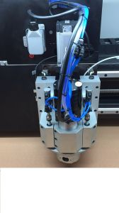 PCB Routing Machine with 2 Spindles pictures & photos