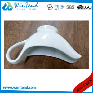 Wholesale Manufactory White Porcelain Hotel Buffet Sauce Gravy Boat pictures & photos
