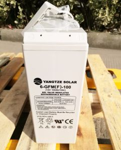 12V 100ah Marine Deep Cycle Boat Battery pictures & photos