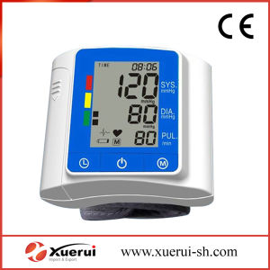Digital Wrist Blood Pressure Monitor with Blood Pressure Cuff pictures & photos