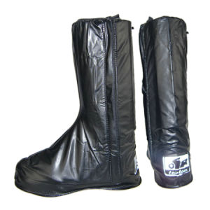 PVC High Boot Cover, Waterproof Shoe Cover pictures & photos