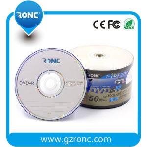 Ronc Blank DVDR Disk with High Recording Speed 1-16X pictures & photos