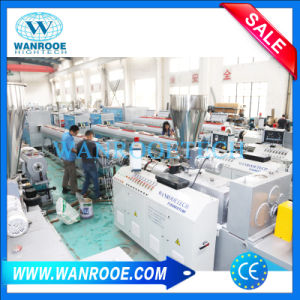 Plastic PVC UPVC Water Supply Pipe Profile Making Extrusion Line pictures & photos