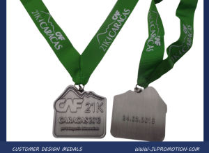 Hot Sale Customized Metal Medal with Ribbon pictures & photos