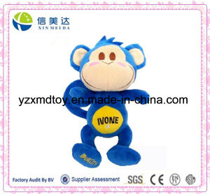 Wholesale Plush Stuffed Blue Monkey Toy pictures & photos