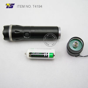 LED Flashlight with Alarm Self Protector (T4194) pictures & photos