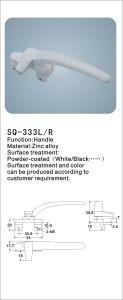 Zinc Alloy Handle for Windows/Doors (SQ-333 L/R) pictures & photos