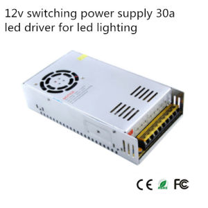 12V 30A Switching Power Supply (S-360-12) pictures & photos